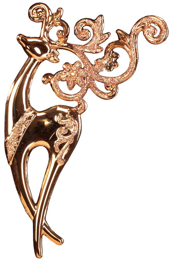 Украшение для интерьера новогоднее Erich Krause Олень грациозный, 15,5 см43405Грациозный олень выполнен в цвете розового золота и декорирован блестками. Фигурки животных всегда пользуются большой популярностью, и спрос на них является стабильно высоким. Новогодние украшения всегда несут в себе волшебство и красоту праздника. Создайте в своем доме атмосферу тепла, веселья и радости, украшая его всей семьей.