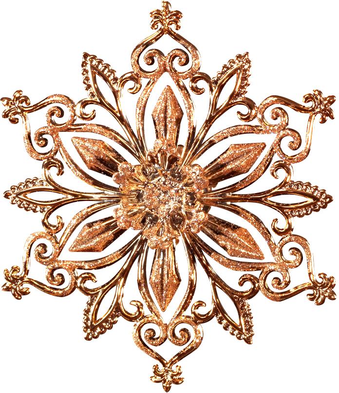 Украшение для интерьера новогоднее Erich Krause Снежинка цветочная, 12,5 см43412Снежинка чудной формы выполнена в цвете розового золота, а игриво переливающиеся блестки добавляют украшению шарм. Новогодние украшения всегда несут в себе волшебство и красоту праздника. Создайте в своем доме атмосферу тепла, веселья и радости, украшая его всей семьей.