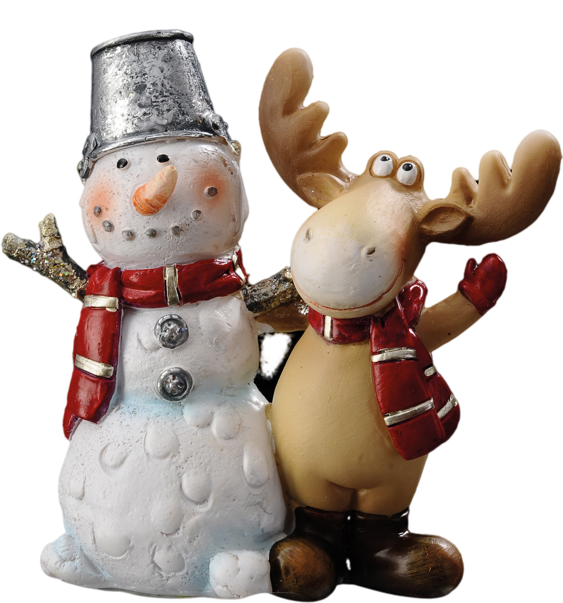 Милый настольный сувенир отличается хорошо прорисованными деталями. Новогодние украшения всегда несут в себе волшебство и красоту праздника. Создайте в своем доме атмосферу тепла, веселья и радости, украшая его всей семьей.