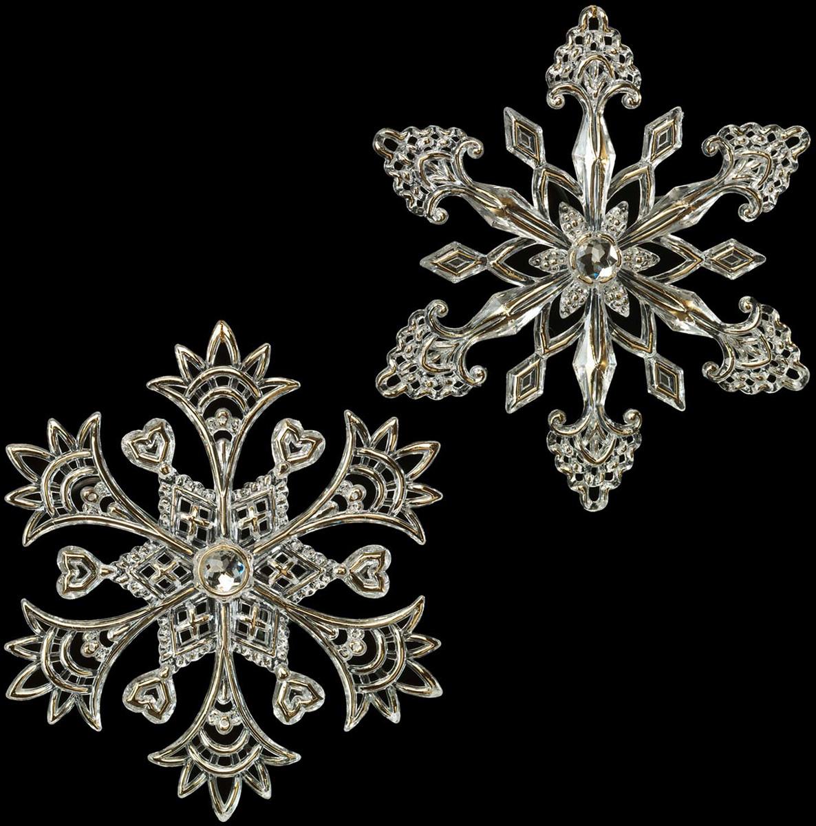 Украшение для интерьера новогоднее Erich Krause Снежинка со стразинкой, 13 см. 4026840268Звенящую прозрачность снежинки подчеркивают деликатные золотые вкрапления. Смотрится изысканно. Представлено две модели в ассортименте. Выбор модели невозможен. Упаковка - полибэг.