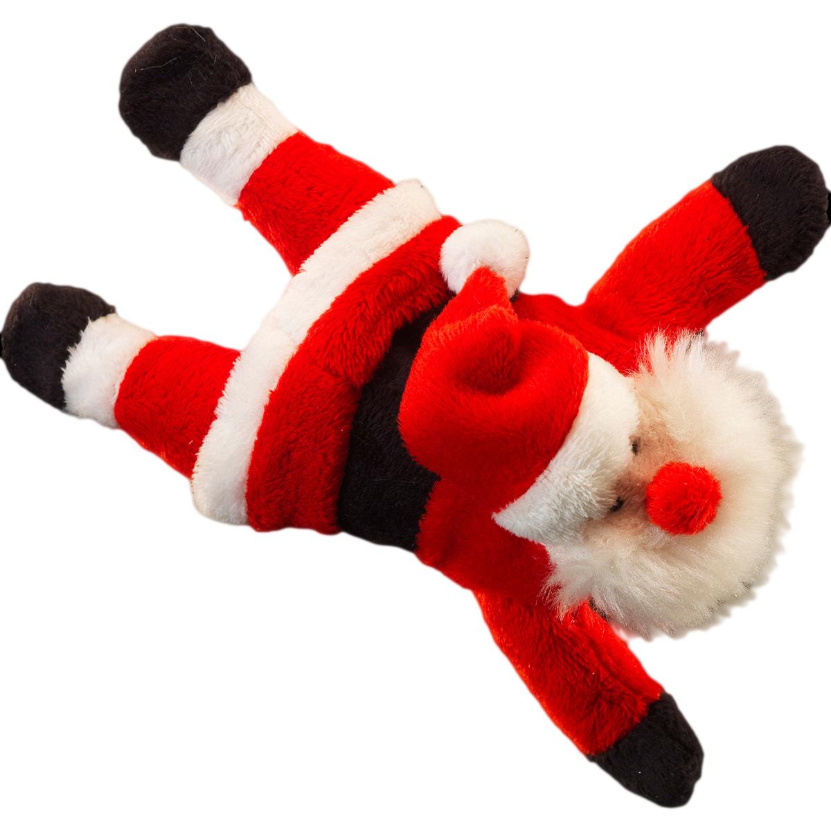 Украшение для интерьера новогоднее Erich Krause Санта, на магнитах, 15 см40895Забавный Санта Клаус с магнитами, спрятанными в руках и ногах, выполнен из мягкого плюша. Украсит металлическую поверхность интерьера. Новогодние украшения всегда несут в себе волшебство и красоту праздника. Создайте в своем доме атмосферу тепла, веселья и радости, украшая его всей семьей.