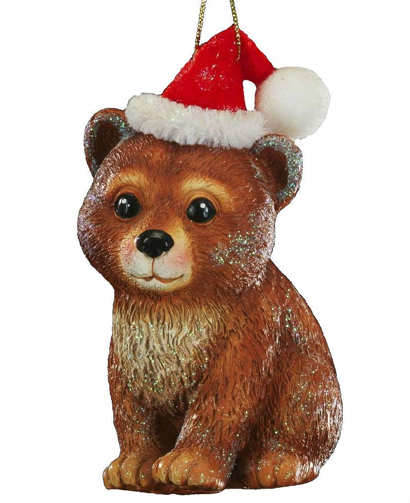 Милый и очень добрый лесной зверек в новогоднем колпаке выполнен из полирезины. Украшение является достаточно тяжелым, поэтому больше подходит для искусственных елок. Новогодние украшения всегда несут в себе волшебство и красоту праздника. Создайте в своем доме атмосферу тепла, веселья и радости, украшая его всей семьей.