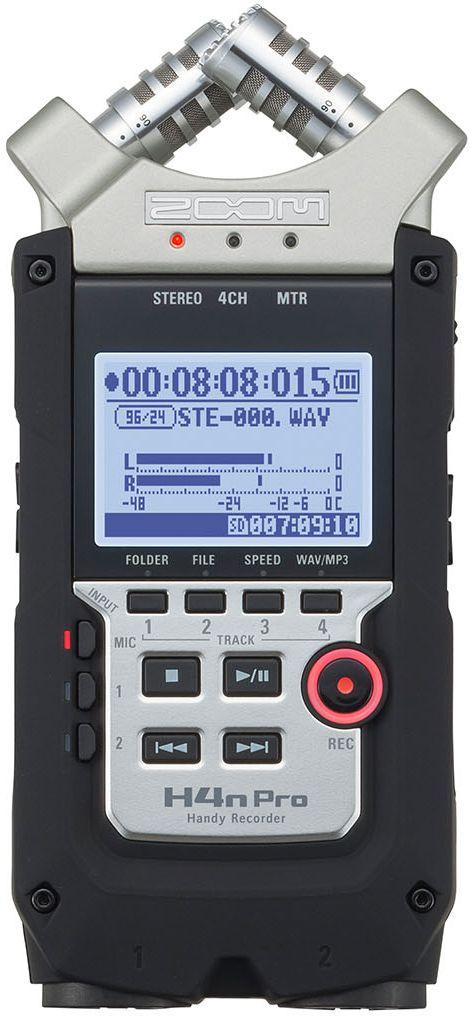 Zoom H4nPro, Black диктофон - MP3-плееры и диктофоны