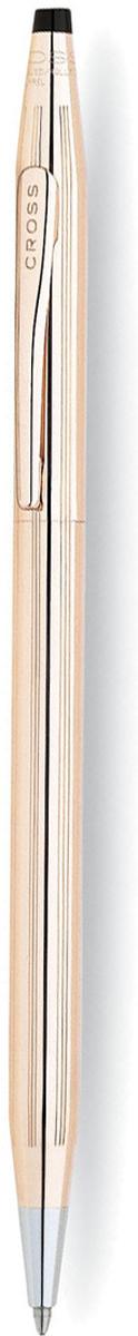Cross Ручка шариковая Century Classic цвет корпуса золотистый1502Американская компания CROSS – один из старейших брендов среди производителей пишущих инструментов и деловых аксессуаров. Компания была основана в 1846 году ювелиром Ричардом Кроссом и изначально специализировалась на производстве роскошных ротом и серебром. На протяжении долгих лет пишущие инструек из драгоценных металлов и ювелирных корпусов для карандашей, тисненных золотом и серебром. На протяжении долгих лет пишущие инструменты CROSS остаются классическим выбором для подарка.Ручка CROSS — это оригинальный персонгальный подарок и неотъемлемый элемент вашего стиля.Это голос доверия,который создает долгосрочные отношения между людьми и обогащет смыслом драгоценные моменты.Каждая ручка CROSS имеет пожизненную механическую гарантию. Шариковая ручка Cross Century Classic будет отличным подарком ценителю классических письменных принадлежностей. Кросс Сентури Классик станет неизменной спутницей в повседневной жизни деловому человеку и не подведёт своего обладателя даже в самый ответственный момент.Тонкий латунный корпус покрыт позолотой. Прочный клип с логотипом бренда надежно зафиксирует ручку на блокноте или кармане пиджака. Выбрав Cross Century Classic в качестве подарка, дарителю не придется тратить время на упаковку - с этой функцией прекрасно справится оригинальная фирменная коробка. Тип товара: Ручка шариковая Коллекция Cross: Century Classic Толщина линии, мм: 0.7 Цвет чернил: черный Материал: латуньпозолота 14КЦвет: золотистый Упаковка: подарочная коробка