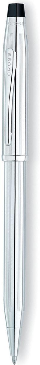 Cross Ручка шариковая Century II цвет корпуса серебристый3502WGАмериканская компания CROSS – один из старейших брендов среди производителей пишущих инструментов и деловых аксессуаров. Компания была основана в 1846 году ювелиром Ричардом Кроссом и изначально специализировалась на производстве роскошных ротом и серебром. На протяжении долгих лет пишущие инструек из драгоценных металлов и ювелирных корпусов для карандашей, тисненных золотом и серебром. На протяжении долгих лет пишущие инструменты CROSS остаются классическим выбором для подарка.Ручка CROSS — это оригинальный персонгальный подарок и неотъемлемый элемент вашего стиля.Это голос доверия,который создает долгосрочные отношения между людьми и обогащет смыслом драгоценные моменты.Каждая ручка CROSS имеет пожизненную механическую гарантию. Шариковая ручка Cross Century II сочетает в себе современные технологические решения и классические формы. На конусообразный корпус нанесены небольшие продольные бороздки, предотвращающие скольжение между пальцев во время письма. Пишущий узел среднего размера предназначен для письма со средним и сильным нажатием.Хромированный латунный корпус снабжен поворотным механизмом, защищающим пишущий узел от повреждений. Достойной заменой подарочной упаковке будет оригинальная фирменная коробка, в которой продается ручка.Тип товара: Ручка шариковая Коллекция Cross: Century II Толщина линии, мм: 0.7 Цвет чернил: черный Материал: латуньхромЦвет: серебристый Упаковка: подарочная коробка