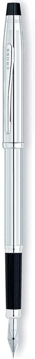 Cross Ручка перьевая Century II цвет корпуса серебристый3509-FSАмериканская компания CROSS – один из старейших брендов среди производителей пишущих инструментов и деловых аксессуаров. Компания была основана в 1846 году ювелиром Ричардом Кроссом и изначально специализировалась на производстве роскошных ручек из драгоценных металлов и ювелирных корпусов для карандашей, тисненных золотом и серебром. На протяжении долгих лет пишущие инструменты CROSS остаются классическим выбором для подарка.Ручка CROSS — это оригинальный персонгальный подарок и неотъемлемый элемент вашего стиля.Это голос доверия,который создает долгосрочные отношения между людьми и обогащет смыслом драгоценные моменты.Каждая ручка CROSS имеет пожизненную механическую гарантию.Перьевая ручка Cross Century II, Lustrous Chrome (Перо F) / АРТИКУЛ: 3509-FSПеро: нержавеющая сталь. Корпус: хром. Отделка: хром. Особенности: чернильный баллончик, конвертор. Цвет: глянцевый хром.Возможно ли сделать совершенство еще лучше? Вполне! И доказательство тому - коллекция Cross Century II. Дизайн их корпуса почти полностью повторяет линии коллекции Century Classic, а его верхняя часть по прежнему имеет традиционную коническую форму Главное отличие этой популярной коллекции увеличенный диаметр, который так удобен для руки.