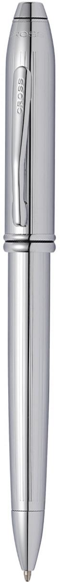 Cross Ручка шариковая Townsend цвет корпуса серебристый532TWАмериканская компания CROSS – один из старейших брендов среди производителей пишущих инструментов и деловых аксессуаров. Компания была основана в 1846 году ювелиром Ричардом Кроссом и изначально специализировалась на производстве роскошных ротом и серебром. На протяжении долгих лет пишущие инструек из драгоценных металлов и ювелирных корпусов для карандашей, тисненных золотом и серебром. На протяжении долгих лет пишущие инструменты CROSS остаются классическим выбором для подарка.Ручка CROSS — это оригинальный персонгальный подарок и неотъемлемый элемент вашего стиля.Это голос доверия,который создает долгосрочные отношения между людьми и обогащет смыслом драгоценные моменты.Каждая ручка CROSS имеет пожизненную механическую гарантию. Шариковая ручка Cross Townsend, Lustrous Chrome / АРТИКУЛ: 532TWКорпус: ювелирная латунь. Механизм: поворотного действия. Система заправки: заменяемые стержни Cross для шариковых ручек. Размеры ручки: длина -146,0 мм, максимальная ширина (диаметр) - 10,9 мм. Вес ручки: 37 гр. Отделка: тщательно отполированное вручную хромированное покрытие с оригинальной продольной гравировкой (Highly polished chrome incised with a subtle line pattern), отдельные элементы дизайна - зеркальный хром. Цвет: серебристый. Особенности: новый улучшенный дизайн аналогичной модели Cross Townsend выпускавшейся ранее.используются стандартные стержни для шариковых ручек Cross.возможно использование специального конвертора - механический карандаш (грифель 0,7 мм и ластик) в виде стандартного стержня Cross для шариковых ручек.Названная в честь основателя компании Алонзо Таунсенда Кросса, коллекция Cross Townsend - настоящий шедевр. В ней гармонично сочетаются ювелирное мастерство и самые передовые технологии. Это драгоценность в ваших руках. Отличительная черта коллекции - широкий диаметр корпуса пишущих инструментов и опоясывающие его двойные кольца.