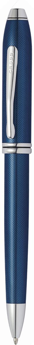 Cross Ручка шариковая Townsend цвет корпуса синий692TW-1Американская компания CROSS – один из старейших брендов среди производителей пишущих инструментов и деловых аксессуаров. Компания была основана в 1846 году ювелиром Ричардом Кроссом и изначально специализировалась на производстве роскошных ротом и серебром. На протяжении долгих лет пишущие инструек из драгоценных металлов и ювелирных корпусов для карандашей, тисненных золотом и серебром. На протяжении долгих лет пишущие инструменты CROSS остаются классическим выбором для подарка.Ручка CROSS — это оригинальный персонгальный подарок и неотъемлемый элемент вашего стиля.Это голос доверия,который создает долгосрочные отношения между людьми и обогащет смыслом драгоценные моменты.Каждая ручка CROSS имеет пожизненную механическую гарантию. Шариковая ручка Cross Townsend, Blue RT / АРТИКУЛ: 692TW-1Корпус: ювелирная латунь. Механизм: поворотного действия. Система заправки: заменяемые стержни Cross для шариковых ручек. Размеры ручки: длина -146,0 мм, максимальная ширина (диаметр) - 10,9 мм. Вес ручки: 37 гр. Отделка: оригинальная алмазная гравировка, многослойное покрытие высококачественным лаком изумительного мерцающего синего цвета тщательно отполированное вручную, отдельные элементы дизайна - родиевое покрытие. Цвет: лаковый мерцающий синий / серебристый. Особенности: новый улучшенный дизайн аналогичной модели Cross Townsend выпускавшейся ранее.используются стандартные стержни для шариковых ручек Cross.возможно использование специального конвертора - механический карандаш (грифель 0,7 мм и ластик) в виде стандартного стержня Cross для шариковых ручек .Названная в честь основателя компании Алонзо Таунсенда Кросса, коллекция Cross Townsend - настоящий шедевр. В ней гармонично сочетаются ювелирное мастерство и самые передовые технологии. Это драгоценность в ваших руках. Отличительная черта коллекции - широкий диаметр корпуса пишущих инструментов и опоясывающие его двойные кольца.