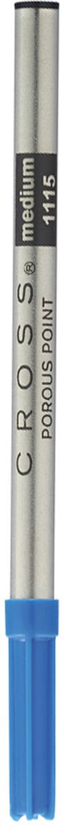 Cross Стержень капиллярный для роллеров Selectip средний 0,7 мм цвет чернил синий8441Стержень для ручки-роллера Cross обеспечивает четкие и яркие линии, не требует усилий при письме, чернила быстро высыхают. Толщина линии 0,7 мм.Подходит для ручек-роллеров Cross. Цвет чернил - синий.