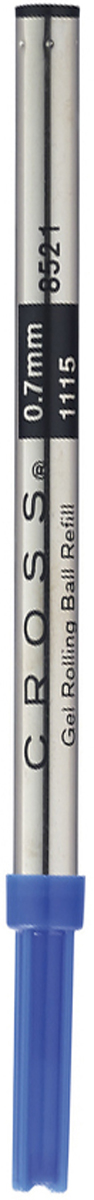 Cross Стержень для ручки-роллера стандартный средний цвет чернил синий8521 blueАмериканская компания CROSS – один из старейших брендов среди производителей пишущих инструментов и деловых аксессуаров. Компания была основана в 1846 году ювелиром Ричардом Кроссом и изначально специализировалась на производстве роскошных ротом и серебром. На протяжении долгих лет пишущие инструек из драгоценных металлов и ювелирных корпусов для карандашей, тисненных золотом и серебром. На протяжении долгих лет пишущие инструменты CROSS остаются классическим выбором для подарка.Ручка CROSS — это оригинальный персонгальный подарок и неотъемлемый элемент вашего стиля.Это голос доверия,который создает долгосрочные отношения между людьми и обогащет смыслом драгоценные моменты.Каждая ручка CROSS имеет пожизненную механическую гарантию. Синий стержень для ручек-роллеров Cross (M) / АРТИКУЛ: 8521Назначение: предназначен для ручек-роллеров Cross из всех коллекций. Цвет: синий. Длина: 110 мм. Вес: 5 гр. Количество:В упаковке 1 шт.Размер:standart Страна:США Толщина пишущего узла:m (среднее) Цвет:синий