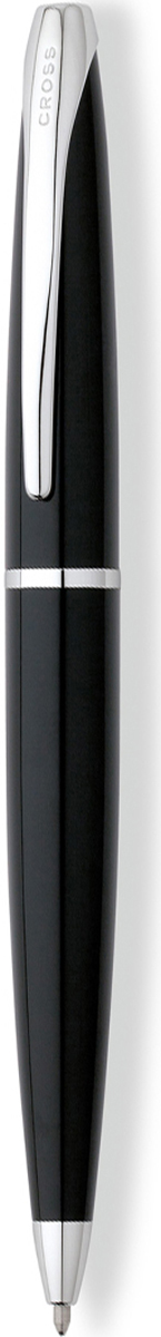 Cross Ручка шариковая ATX цвет корпуса черный серебро882-36Американская компания CROSS – один из старейших брендов среди производителей пишущих инструментов и деловых аксессуаров. Компания была основана в 1846 году ювелиром Ричардом Кроссом и изначально специализировалась на производстве роскошных ротом и серебром. На протяжении долгих лет пишущие инструек из драгоценных металлов и ювелирных корпусов для карандашей, тисненных золотом и серебром. На протяжении долгих лет пишущие инструменты CROSS остаются классическим выбором для подарка.Ручка CROSS — это оригинальный персонгальный подарок и неотъемлемый элемент вашего стиля.Это голос доверия,который создает долгосрочные отношения между людьми и обогащет смыслом драгоценные моменты.Каждая ручка CROSS имеет пожизненную механическую гарантию. Шариковая ручка Cross ATX, Black Lacquer CT / АРТИКУЛ: 882-36 Модель 2012 года Корпус: ювелирная латунь. Механизм: поворотного действия. Отделка: современная отделка высокопрочным черным лаком, отдельные элементы дизайна - зеркальный хром. Размеры ручки: длина -138,2 мм, максимальная ширина (диаметр) - 13,1 мм. Вес ручки: 27 гр. Цвет: лаковый черный / хром. Особенности: используются стандартные стержни для шариковых ручек Cross, возможно использование специального конвертора - механический карандаш (грифель 0,7 мм и ластик) в виде стандартного стержня Cross для шариковых ручек. Новые пишущие инструменты из коллекции Cross ATX имеют обтекаемую форму и широкий клип эллиптической формы. Навеянные эстетикой XXI века плавные линии и современный дизайн, созданного по бесшовной технологии, корпуса придают этим ручкам неповторимый стиль. Это профессиональный выбор модных цветовых решений и стиля. Оригинальная лакированная отделка дополнена хромированными элементами с родиевым покрытием. Гарантия производителя:пожизненная Тип пишущего узла:шариковая ручка Механизм:поворотного действия Цвет корпуса:Черный Отделка элементов:серебряный цвет Толщина корпуса:стандартная
