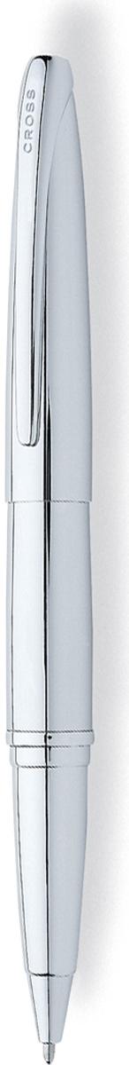 """Cross Ручка-роллер Selectip ATX цвет корпуса серебристый885-2Американская компания CROSS – один из старейших брендов среди производителей пишущих инструментов и деловых аксессуаров. Компания была основана в 1846 году ювелиром Ричардом Кроссом и изначально специализировалась на производстве роскошных ротом и серебром. На протяжении долгих лет пишущие инструек из драгоценных металлов и ювелирных корпусов для карандашей, тисненных золотом и серебром. На протяжении долгих лет пишущие инструменты CROSS остаются классическим выбором для подарка.Ручка CROSS — это оригинальный персонгальный подарок и неотъемлемый элемент вашего стиля.Это голос доверия,который создает долгосрочные отношения между людьми и обогащет смыслом драгоценные моменты.Каждая ручка CROSS имеет пожизненную механическую гарантию. Ручка-роллер ATX Корпус: хром Отделка: хром Цвет: хром Комплектация: черный гелевый стержень(1) в ручке Упаковка: подарочная коробка Особенности: возможно использование стержня маркера для документов или большого шарикового стержня Особенности: Наиболее универсальная пишущая система – запатентованная и известная как Cross Selectip Rolling Ball. Selectip означает «выбор». Selectip позволяет владельцу выбирать вид стержня, который может быть использован в этом пишущем инструменте из следующих вариантов: Стержень для роллера, совмещение простоты использования шариковой ручки и элегантности письма, присущей перьевой ручке (art. 8521; 8523 ) Шариковый стержень с увеличенным объемом """"Jumbo"""", придающий письму отчетливость и рельефность (atr. 8562-1; 8562-3). Стержень - маркер для выделения текста в документах (art. 8017) Пористый или капиллярный стержень (art. 8441; 8442; 8443; 8444)."""