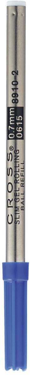 Cross Стержень для ручки-роллера Century Classic Click тонкий цвет чернил синий8910-2Американская компания CROSS – один из старейших брендов среди производителей пишущих инструментов и деловых аксессуаров. Компания была основана в 1846 году ювелиром Ричардом Кроссом и изначально специализировалась на производстве роскошных ротом и серебром. На протяжении долгих лет пишущие инструек из драгоценных металлов и ювелирных корпусов для карандашей, тисненных золотом и серебром. На протяжении долгих лет пишущие инструменты CROSS остаются классическим выбором для подарка.Ручка CROSS — это оригинальный персонгальный подарок и неотъемлемый элемент вашего стиля.Это голос доверия,который создает долгосрочные отношения между людьми и обогащет смыслом драгоценные моменты.Каждая ручка CROSS имеет пожизненную механическую гарантию. Синий стержень для ручки-роллера Cross из коллекции Spire (F) / АРТИКУЛ: 8910-2Назначение: для ручки-роллера Cross Spire. Цвет: синий (Blue). Длина: 110 мм. Вес: 5 гр. Упаковка: блистер Особенности: специальный тонкий гелевый стерженьпредназначен только для ручек-роллеров Cross Spire Назначение:для роллеров Количество:В упаковке 1 шт.Размер:standart Страна:США Толщина пишущего узла:f (тонкое) Цвет:синий