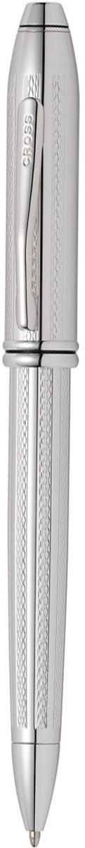 Cross Ручка шариковая Townsend цвет корпуса платиновыйAT0042TW-1Американская компания CROSS – один из старейших брендов среди производителей пишущих инструментов и деловых аксессуаров. Компания была основана в 1846 году ювелиром Ричардом Кроссом и изначально специализировалась на производстве роскошных ротом и серебром. На протяжении долгих лет пишущие инструек из драгоценных металлов и ювелирных корпусов для карандашей, тисненных золотом и серебром. На протяжении долгих лет пишущие инструменты CROSS остаются классическим выбором для подарка.Ручка CROSS — это оригинальный персонгальный подарок и неотъемлемый элемент вашего стиля.Это голос доверия,который создает долгосрочные отношения между людьми и обогащет смыслом драгоценные моменты.Каждая ручка CROSS имеет пожизненную механическую гарантию. Шариковая ручка Cross Townsend 2016, Platinum RT / АРТИКУЛ: AT0042TW-1Корпус: ювелирная латунь. Механизм: поворотного действия. Система заправки: заменяемые стандартные стержни Cross для шариковых ручек. Отделка: тщательно отполированное вручную платиновое покрытие с оригинальной алмазной гравировкой (Precious platinum-plated finish with exquisite diamond-pattern engraving), отдельные элементы дизайна - родиевое покрытие. Размеры ручки: длина - 14,6 см, максимальная ширина (диаметр) -1,09 см. Вес ручки: 37 гр. Цвет: серебристый. Особенности: новый улучшенный дизайн аналогичной модели Cross Townsend выпускавшейся ранее.используются стандартные стержни для шариковых ручек Cross.возможно использование специального конвертора - механический карандаш (грифель 0,7 мм и ластик) в виде стандартного стержня Cross для шариковых ручек.Названная в честь основателя компании Алонзо Таунсенда Кросса, коллекция Cross Townsend - настоящий шедевр. В ней гармонично сочетаются ювелирное мастерство и самые передовые технологии. Это драгоценность в ваших руках. Отличительная черта коллекции - широкий диаметр корпуса пишущих инструментов и опоясывающие его двойные кольца.