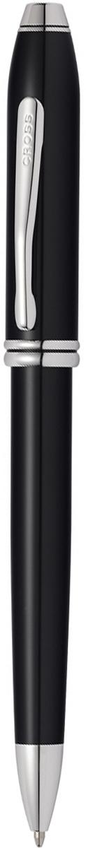 Cross Ручка шариковая Townsend цвет корпуса черныйAT0042TW-4Американская компания CROSS – один из старейших брендов среди производителей пишущих инструментов и деловых аксессуаров. Компания была основана в 1846 году ювелиром Ричардом Кроссом и изначально специализировалась на производстве роскошных ротом и серебром. На протяжении долгих лет пишущие инструек из драгоценных металлов и ювелирных корпусов для карандашей, тисненных золотом и серебром. На протяжении долгих лет пишущие инструменты CROSS остаются классическим выбором для подарка.Ручка CROSS — это оригинальный персонгальный подарок и неотъемлемый элемент вашего стиля.Это голос доверия,который создает долгосрочные отношения между людьми и обогащет смыслом драгоценные моменты.Каждая ручка CROSS имеет пожизненную механическую гарантию. Шариковая ручка Cross Townsend 2016, Black RT / АРТИКУЛ: AT0042TW-4Корпус: ювелирная латунь. Механизм: поворотного действия. Система заправки: заменяемые стандартные стержни Cross для шариковых ручек. Отделка: многослойное покрытие высококачественным лаком радикально черного цвета тщательно отполированное вручную, отдельные элементы дизайна - родиевое покрытие. Размеры ручки: длина - 14,6 см, максимальная ширина (диаметр) -1,09 см. Вес ручки: 37 гр. Цвет: лаковый черный / серебристый. Особенности: новый улучшенный дизайн аналогичной модели Cross Townsend выпускавшейся ранее.используются стандартные стержни для шариковых ручек Cross.возможно использование специального конвертора - механический карандаш (грифель 0,7 мм и ластик) в виде стандартного стержня Cross для шариковых ручек.Названная в честь основателя компании Алонзо Таунсенда Кросса, коллекция Cross Townsend - настоящий шедевр. В ней гармонично сочетаются ювелирное мастерство и самые передовые технологии. Это драгоценность в ваших руках. Отличительная черта коллекции - широкий диаметр корпуса пишущих инструментов и опоясывающие его двойные кольца.