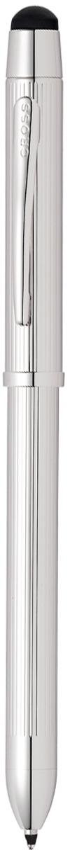 Cross Многофункциональная ручка Tech3+ цвет корпуса платиновый стилус