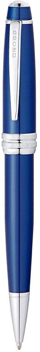 Cross Ручка шариковая Bailey черная цвет корпуса синий cross ручка роллер selectip beverly черная цвет корпуса фиолетовый