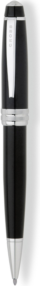 Cross Ручка шариковая Bailey черная цвет корпуса черный cross ручка роллер selectip beverly черная цвет корпуса фиолетовый