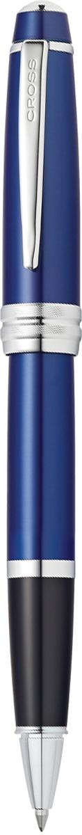 Cross Ручка-роллер Selectip Bailey цвет корпуса синийAT0455-12Американская компания CROSS – один из старейших брендов среди производителей пишущих инструментов и деловых аксессуаров. Компания была основана в 1846 году ювелиром Ричардом Кроссом и изначально специализировалась на производстве роскошных ротом и серебром. На протяжении долгих лет пишущие инструек из драгоценных металлов и ювелирных корпусов для карандашей, тисненных золотом и серебром. На протяжении долгих лет пишущие инструменты CROSS остаются классическим выбором для подарка.Ручка CROSS — это оригинальный персонгальный подарок и неотъемлемый элемент вашего стиля.Это голос доверия,который создает долгосрочные отношения между людьми и обогащет смыслом драгоценные моменты.Каждая ручка CROSS имеет пожизненную механическую гарантию. Ручка-роллер Cross Bailey, Blue Lacquer CT / АРТИКУЛ: AT0455-12Это серия классических ручек представительского стиля в средней ценовой категории. Строгий классический дизайн ручек Cross Bailey делает их универсальным рабочим инструментом, который подойдет и мужчинам, и женщинам. Ручки имеют гладкий обтекаемый металлический корпус с черным или красным лаковым покрытием, хромированной отделкой и рельефным центральным кольцом с глубокой гравировкой.В коллекции Cross Bailey представлены три пишущие технологии шариковая ручка, ручка-роллер Selectip и перьевая с пером из нержавеющей стали. Тип роллера Selectip позволяет владельцу выбирать вид стержня. Это может быть стержень для роллера, в котором совмещается простота использования шариковой ручки и элегантность письма, присущая перьевой ручке, шариковый стержень с увеличенным объёмом Jumbo, придающий письму отчетливость и рельефность, широкий стержень-маркер желтого цвета для выделения текста в документах, а также капиллярный стержень. Для шариковой модели предусмотрены стержни разной толщины: тонкий (0,5 мм), средний (0,7 мм) и широкий (1,0 мм), и три вида цвета чернил (синий, черный и красный). Ширина стержней для ручки-роллера за