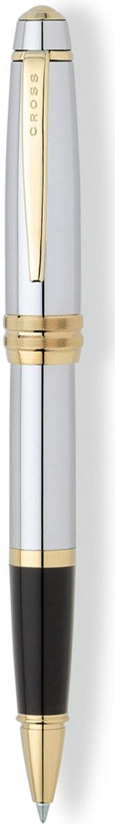 Cross Ручка-роллер Selectip Bailey цвет корпуса серебристый золотистыйAT0455-6Американская компания CROSS – один из старейших брендов среди производителей пишущих инструментов и деловых аксессуаров. Компания была основана в 1846 году ювелиром Ричардом Кроссом и изначально специализировалась на производстве роскошных ротом и серебром. На протяжении долгих лет пишущие инструек из драгоценных металлов и ювелирных корпусов для карандашей, тисненных золотом и серебром. На протяжении долгих лет пишущие инструменты CROSS остаются классическим выбором для подарка.Ручка CROSS — это оригинальный персонгальный подарок и неотъемлемый элемент вашего стиля.Это голос доверия,который создает долгосрочные отношения между людьми и обогащет смыслом драгоценные моменты.Каждая ручка CROSS имеет пожизненную механическую гарантию. Ручка-роллер Cross Bailey, Medalist / АРТИКУЛ: AT0455-6 Модель 2012 годаМеханизм: съемный колпачек. Корпус: ювелирная латунь. Отделка: тщательно отполированный корпус, зеркальный хром, оригинальное рифление на кольце колпачка, отдельные элементы дизайна - позолота 23K. Цвет: зеркальный хром / золотой. Размеры: длина ручки 138 мм, толщина ручки (максимальный диаметр) 12,2 мм. Вес: 32 гр. Особенности: используются стандартные стержни для ручек-роллеров Cross. Механизм:съемный колпачок Цвет корпуса:серебряный, стальной Отделка элементов:золотой цвет Толщина корпуса:Стандартная Ассортимент ручек торговой марки Cross пополнился коллекцией Cross Bailey. Это серия классических ручек представительского стиля в средней ценовой категории. Строгий классический дизайн ручек Cross Bailey делает их универсальным рабочим инструментом, который подойдет и мужчинам, и женщинам. Ручки имеют гладкий обтекаемый металлический корпус с черным или красным лаковым покрытием, хромированной отделкой и рельефным центральным кольцом с глубокой гравировкой.