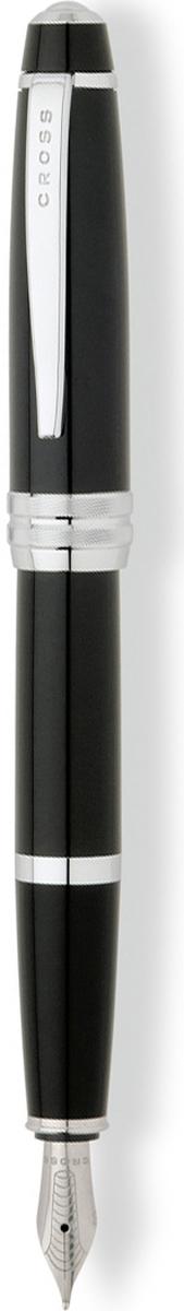 Cross Ручка перьевая Bailey цвет корпуса глянцевый черныйAT0456-7MSАмериканская компания CROSS – один из старейших брендов среди производителей пишущих инструментов и деловых аксессуаров. Компания была основана в 1846 году ювелиром Ричардом Кроссом и изначально специализировалась на производстве роскошных ручек из драгоценных металлов и ювелирных корпусов для карандашей, тисненных золотом и серебром. На протяжении долгих лет пишущие инструменты CROSS остаются классическим выбором для подарка.Ручка CROSS — это оригинальный персонгальный подарок и неотъемлемый элемент вашего стиля.Это голос доверия,который создает долгосрочные отношения между людьми и обогащет смыслом драгоценные моменты.Каждая ручка CROSS имеет пожизненную механическую гарантию.Перьевая ручка Cross Bailey, Black Lacquer CT (Перо M) / АРТИКУЛ: AT0456-7MS Модель 2012 годаПеро: нержавеющая сталь. Отделка пера: зеркальный хром, оригинальная гравировка. Механизм: съемный колпачек. Корпус: ювелирная латунь. Отделка: многослойное покрытие высококачественным лаком радикально черного цвета, оригинальное рифление на кольце колпачка, отдельные элементы дизайна - зеркальный хром. Цвет: лаковый черный / хром. Размеры: длина ручки 138 мм, толщина ручки (максимальный диаметр) 12,2 мм. Вес: 25 гр. Особенности: используются стандартные чернильные картриджи Cross, возможно использование специального поршневого конвертора Cross, приобретается отдельно. Механизм: съемный колпачок Цвет корпуса: Черный Отделка элементов: серебряный цвет Толщина корпуса: стандартная Перо: нержавеющая сталь Страна: США Толщина пишущего узла: m (среднее) Ассортимент ручек торговой марки Cross пополнился коллекцией Cross Bailey. Это серия классических ручек представительского стиля в средней ценовой категории. Строгий классический дизайн ручек Cross Bailey делает их универсальным рабочим инструментом, который подойдет и мужчинам, и женщинам. Ручки имеют гладкий обтекаемый металлический корпус с черным или красным лаковым покрытием, хромирован