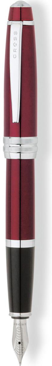 Cross Ручка перьевая Bailey цвет корпуса красныйAT0456-8MSАмериканская компания CROSS – один из старейших брендов среди производителей пишущих инструментов и деловых аксессуаров. Компания была основана в 1846 году ювелиром Ричардом Кроссом и изначально специализировалась на производстве роскошных ручек из драгоценных металлов и ювелирных корпусов для карандашей, тисненных золотом и серебром. На протяжении долгих лет пишущие инструменты CROSS остаются классическим выбором для подарка.Ручка CROSS — это оригинальный персонгальный подарок и неотъемлемый элемент вашего стиля.Это голос доверия,который создает долгосрочные отношения между людьми и обогащет смыслом драгоценные моменты.Каждая ручка CROSS имеет пожизненную механическую гарантию.Перьевая ручка Cross Bailey, Red Lacquer CT (Перо M) / АРТИКУЛ: AT0456-8MS Модель 2012 годаПеро: нержавеющая сталь. Отделка пера: зеркальный хром, оригинальная гравировка. Механизм: съемный колпачек. Корпус: ювелирная латунь. Отделка: многослойное покрытие высококачественным лаком насыщенного красного цвета, оригинальное рифление на кольце колпачка, отдельные элементы дизайна - зеркальный хром. Цвет: лаковый красный / хром. Размеры: длина ручки 138 мм, толщина ручки (максимальный диаметр) 12,2 мм. Вес: 25 гр. Особенности: используются стандартные чернильные картриджи Cross, возможно использование специального поршневого конвертора Cross, приобретается отдельно. Механизм: съемный колпачок Цвет корпуса: красный, бордовый Отделка элементов: серебряный цвет Толщина корпуса: стандартная Перо: нержавеющая сталь Страна:США Толщина пишущего узла: m (среднее) Ассортимент ручек торговой марки Cross пополнился коллекцией Cross Bailey. Это серия классических ручек представительского стиля в средней ценовой категории. Строгий классический дизайн ручек Cross Bailey делает их универсальным рабочим инструментом, который подойдет и мужчинам, и женщинам. Ручки имеют гладкий обтекаемый металлический корпус с черным или красным лаковым покрытием, хромиров