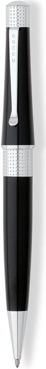 Cross Ручка шариковая Beverly цвет корпуса черныйAT0492-4Американская компания CROSS – один из старейших брендов среди производителей пишущих инструментов и деловых аксессуаров. Компания была основана в 1846 году ювелиром Ричардом Кроссом и изначально специализировалась на производстве роскошных ротом и серебром. На протяжении долгих лет пишущие инструек из драгоценных металлов и ювелирных корпусов для карандашей, тисненных золотом и серебром. На протяжении долгих лет пишущие инструменты CROSS остаются классическим выбором для подарка.Ручка CROSS — это оригинальный персонгальный подарок и неотъемлемый элемент вашего стиля.Это голос доверия,который создает долгосрочные отношения между людьми и обогащет смыслом драгоценные моменты.Каждая ручка CROSS имеет пожизненную механическую гарантию. Шариковая ручка Cross Beverly, Lacquer Black / Chrome / АРТИКУЛ: AT0492-4 Модель 2012 годаМеханизм: поворотного действия. Корпус: ювелирная латунь. Отделка: многослойное покрытие высококачественным лаком черного цвета, оригинальное рифление на кольце колпачка, отдельные элементы дизайна - зеркальный хром, гладкий модный клип. Цвет: лаковый черный / хром. Размеры: длина ручки 13,4 см, толщина ручки: колпачек 1,27 см / корпус 1,14 см. Вес: 28 гр. Особенности: используются стандартные стержни для шариковых ручек Cross, возможно использование специального конвертора - механический карандаш (грифель 0,7 мм и ластик) в виде стандартного стержня Cross для шариковых ручек.Cross Beverly идеальный, стильный женский аксессуар на все случаи жизни, модная коллекция по доступным ценам. Современный стиль, отделка деталей напоминает о ювелирных изделиях, богатые, модные лаковые цвета. Тип пишущего узла:шариковая ручка Коллекция:Beverly Механизм:поворотного действия Цвет корпуса:Черный Отделка элементов:серебряный цвет Толщина корпуса:стандартная