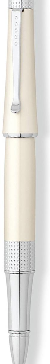 Cross Ручка-роллер Selectip Beverly черная цвет корпуса белый