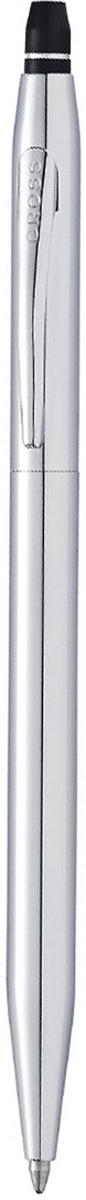 Cross Ручка шариковая Click с гелевым стержнем черного цвета цвет корпуса серебристыйAT0622S-101Американская компания CROSS – один из старейших брендов среди производителей пишущих инструментов и деловых аксессуаров. Компания была основана в 1846 году ювелиром Ричардом Кроссом и изначально специализировалась на производстве роскошных ротом и серебром. На протяжении долгих лет пишущие инструек из драгоценных металлов и ювелирных корпусов для карандашей, тисненных золотом и серебром. На протяжении долгих лет пишущие инструменты CROSS остаются классическим выбором для подарка.Ручка CROSS — это оригинальный персонгальный подарок и неотъемлемый элемент вашего стиля.Это голос доверия,который создает долгосрочные отношения между людьми и обогащет смыслом драгоценные моменты.Каждая ручка CROSS имеет пожизненную механическую гарантию. Ручка гелевая Cross Click Slim, Polished Chrome CT / АРТИКУЛ: AT0622S-101Корпус: ювелирная латунь. Механизм: кнопочный, нажимного действия. Система заправки: заменяемые специальные тонкие стержни-роллеры Cross Slim Rollerball. Отделка: тщательно отполированный хром, гравировка на кольце колпачка, отдельные элементы дизайна - зеркальный хром. Размеры ручки: длина - 13,5 см, максимальная ширина (диаметр) - 0,8 см. Цвет: зеркальный хром. Комплектация: 1 стержень в ручке, подарочная коробка Premium, гарантийный талон Особенности: используются гелевые стержни Cross формата Slim для коллекции ручек-роллеров Cross Spire.оригинальный нажимной механизм click.Новая коллекция пишущих инструментов Cross Click для утонченных натур. Изысканное покрытие корпуса выгодно подчеркнуто блестящей хромированной отделкой. Характерный для всех продуктов Cross обтекаемый силуэт, непревзойденное качество письма, пожизненная гарантия и демократичная стоимость делают новую коллекцию уникальной.Легкий в применении Click механизм. Впервые в ассортименте Cross. Модернизированный легендарный корпус тонких ручек Cross.Коллекция Cross click это: Плавно пишущие гелевые чернила.М