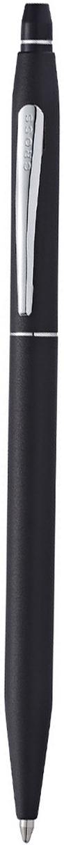 Cross Ручка шариковая Click с гелевым стержнем черного цвета цвет корпуса матовый черныйAT0622S-102Американская компания CROSS – один из старейших брендов среди производителей пишущих инструментов и деловых аксессуаров. Компания была основана в 1846 году ювелиром Ричардом Кроссом и изначально специализировалась на производстве роскошных ротом и серебром. На протяжении долгих лет пишущие инструек из драгоценных металлов и ювелирных корпусов для карандашей, тисненных золотом и серебром. На протяжении долгих лет пишущие инструменты CROSS остаются классическим выбором для подарка.Ручка CROSS — это оригинальный персонгальный подарок и неотъемлемый элемент вашего стиля.Это голос доверия,который создает долгосрочные отношения между людьми и обогащет смыслом драгоценные моменты.Каждая ручка CROSS имеет пожизненную механическую гарантию.Шариковая ручка Click представлена известной американской компанией Cross. Изящный корпус классической формы изготовлен из высококачественной латуни и дополнен хромированными элементами. В верхней части расположен прочный клип с логотипом бренда.Все шариковые ручки серии Клик оснащены нажимным механизмом для защиты пишущего узла. В комплекте Кросс прилагается гелиевый стержень Gel Refill. Допускается использование картриджей для роллеров формата Slim. В качестве упаковки использована фирменная коробка. Тип товара: Ручка шариковая Коллекция Cross: Click Количество предметов в наборе: 2 Состав набора: ручка шариковаястержень гелевыйТолщина линии, мм: 0.7 Цвет чернил: черный Материал: латуньхромЦвет: черный Упаковка: подарочная коробка