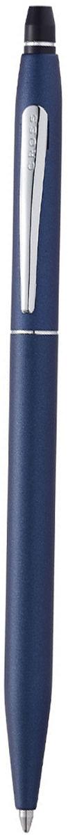 Cross Ручка шариковая Click с гелевым стержнем черного цвета цвет корпуса матовый синийAT0622S-121Американская компания CROSS – один из старейших брендов среди производителей пишущих инструментов и деловых аксессуаров. Компания была основана в 1846 году ювелиром Ричардом Кроссом и изначально специализировалась на производстве роскошных ротом и серебром. На протяжении долгих лет пишущие инструек из драгоценных металлов и ювелирных корпусов для карандашей, тисненных золотом и серебром. На протяжении долгих лет пишущие инструменты CROSS остаются классическим выбором для подарка.Ручка CROSS — это оригинальный персонгальный подарок и неотъемлемый элемент вашего стиля.Это голос доверия,который создает долгосрочные отношения между людьми и обогащет смыслом драгоценные моменты.Каждая ручка CROSS имеет пожизненную механическую гарантию. Ручка гелевая Cross Click Slim, Midnight Blue CT / АРТИКУЛ: AT0622S-121Корпус: ювелирная латунь. Механизм: кнопочный, нажимного действия. Система заправки: заменяемые специальные тонкие стержни-роллеры Cross Slim Rollerball. Отделка: матовый темно-синий лак, гравировка на кольце колпачка, отдельные элементы дизайна - зеркальный хром. Размеры ручки: длина - 13,5 см, максимальная ширина (диаметр) - 0,8 см. Цвет: матовый синий / зеркальный хром. Комплектация: 1 стержень в ручке, подарочная коробка Premium, гарантийный талон Особенности: используются гелевые стержни Cross формата Slim для коллекции ручек-роллеров Cross Spire.оригинальный нажимной механизм click.Новая коллекция пишущих инструментов Cross Click для утонченных натур. Изысканное покрытие корпуса выгодно подчеркнуто блестящей хромированной отделкой. Характерный для всех продуктов Cross обтекаемый силуэт, непревзойденное качество письма, пожизненная гарантия и демократичная стоимость делают новую коллекцию уникальной.Легкий в применении Click механизм. Впервые в ассортименте Cross. Модернизированный легендарный корпус тонких ручек Cross. Коллекция Cross click это:Плавно пишущие гелевые