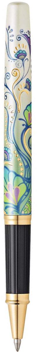 Cross Ручка-роллер Selectip Botanica Зеленая лилияAT0645-4Американская компания CROSS – один из старейших брендов среди производителей пишущих инструментов и деловых аксессуаров. Компания была основана в 1846 году ювелиром Ричардом Кроссом и изначально специализировалась на производстве роскошных ротом и серебром. На протяжении долгих лет пишущие инструек из драгоценных металлов и ювелирных корпусов для карандашей, тисненных золотом и серебром. На протяжении долгих лет пишущие инструменты CROSS остаются классическим выбором для подарка.Ручка CROSS — это оригинальный персонгальный подарок и неотъемлемый элемент вашего стиля.Это голос доверия,который создает долгосрочные отношения между людьми и обогащет смыслом драгоценные моменты.Каждая ручка CROSS имеет пожизненную механическую гарантию. Ручка-роллер Cross Century II Botanica, Green Daylily GT / АРТИКУЛ: AT0645-4Корпус: ювелирная латунь. Механизм: съемный завинчивающийся колпачок. Система заправки: заменяемые стандартные стержни Cross для ручек-роллеров. Отделка: оригинальный рисунок Green Daylily, специальное покрытие 23 Kt. золотом с оригинальной алмазной гравировкой, отдельные элементы дизайна - позолота 23 Kt. Размеры ручки: длина - 15,5 см, максимальная ширина (диаметр) -1,09 см. Вес ручки: 27 гр. Цвет: белый с рисунком / золото. Особенности: поставляется в специальной подарочной упаковке.используются стандартные стержни для ручек-роллеров Cross.возможно использовать специальный шариковый стержень с увеличенным объемом Jumbo.Сегодня на подиумах царствуют цветочные мотивы, и компания Cross создала два инновационных модных дизайна для уникальной коллекции Botanica: Черная Примула и Зеленая Лилия. Созданная под впечатлением природных узоров, эта серия ручек украшена роскошными принтами цветов. Нежные соцветия расцветают на корпусах, покрытых многослойным лаком цвета слоновой кости с металлическим отливом.Ручка-роллер СROSS AT0645-4: Наличие универсальной системы CROSS Selectip, позволяющей владельцу выбирать вид 