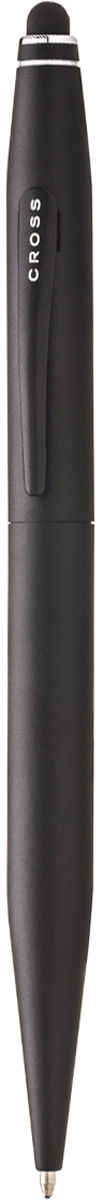 Cross Ручка шариковая Tech2 со стилусом черная цвет корпуса черный