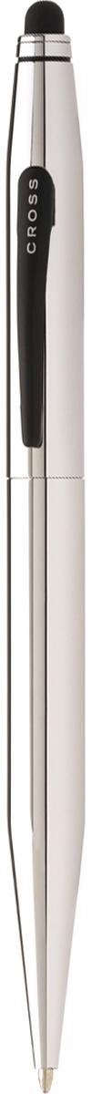 Cross Ручка шариковая Tech2 со стилусом черная цвет корпуса серебристый