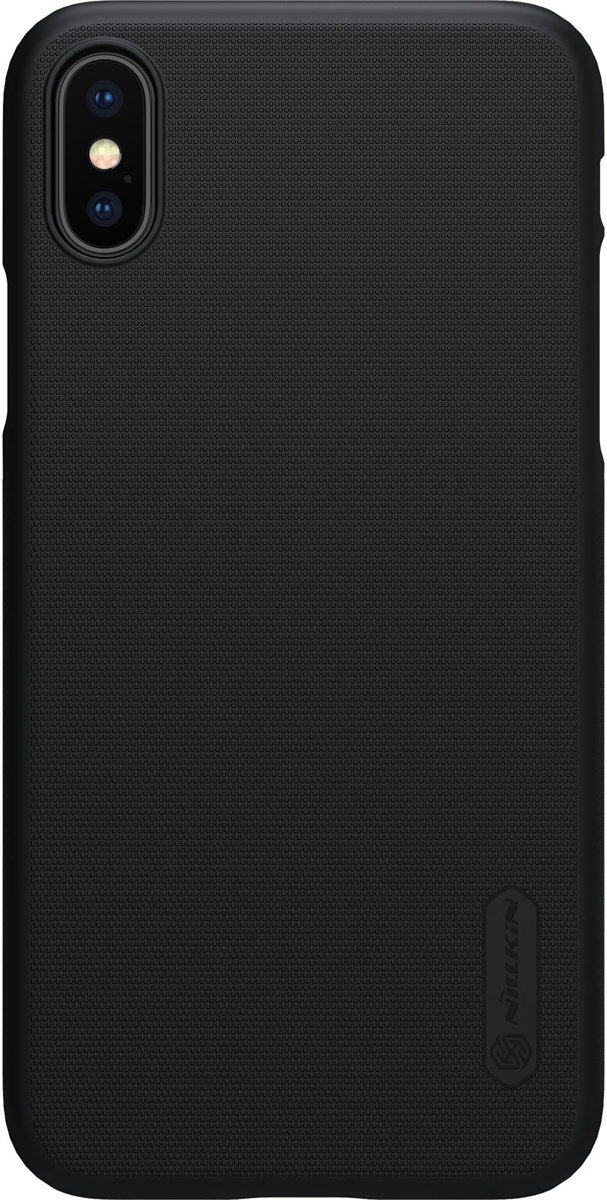 Nillkin Super Frosted Shield накладка для Apple iPhone X, Black