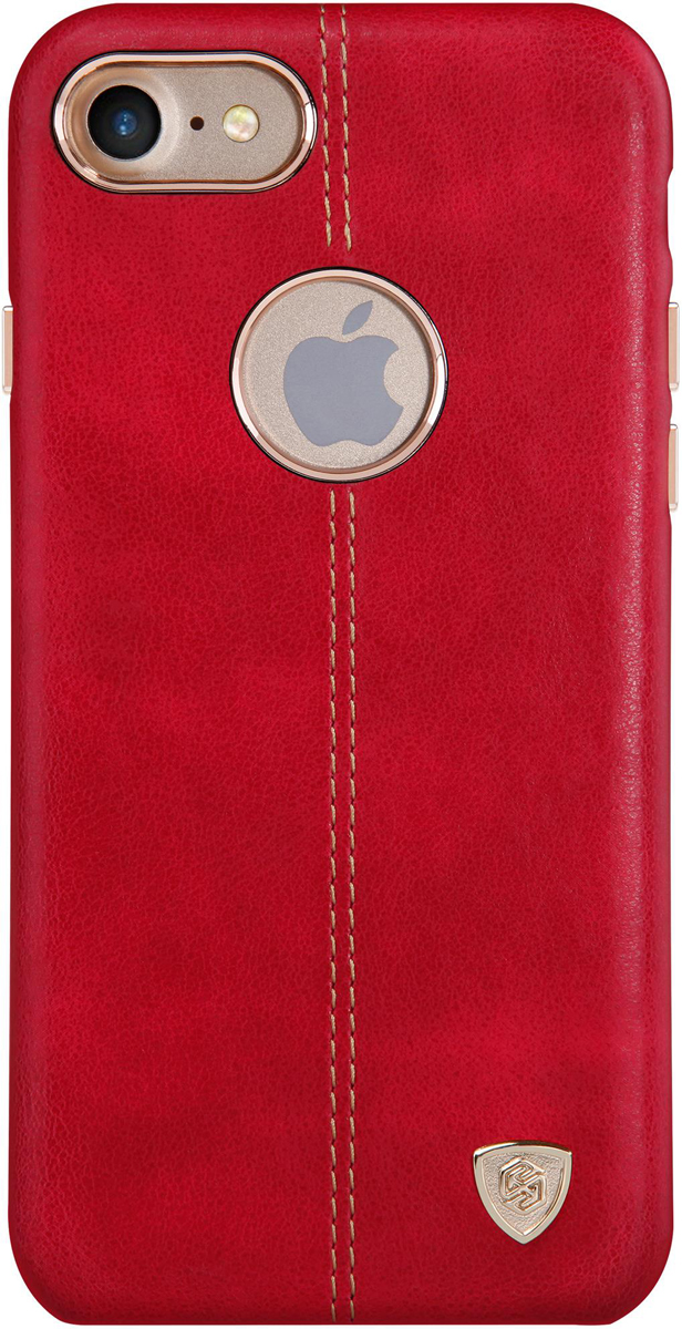 Nillkin Englon Leather Cover чехол для Apple iPhone 8/7, Red2000000150826Накладка NillkinEnglon Leather Cover для Apple iPhone 8