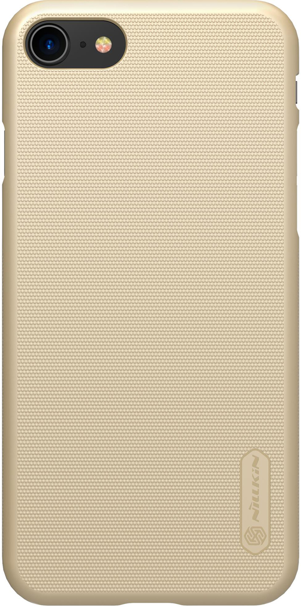 Nillkin Super Frosted Shield чехол для Apple iPhone 8/7, Gold чехлы для телефонов nillkin накладка nillkin super frosted shield для samsung galaxy ace nxt g313h