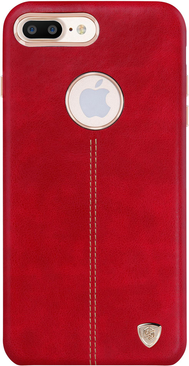 Nillkin Englon Leather Cover чехол для Apple iPhone 8 Plus/7 Plus, Red2000000157108Накладка NillkinEnglon Leather Cover для Apple iPhone 8 Plus