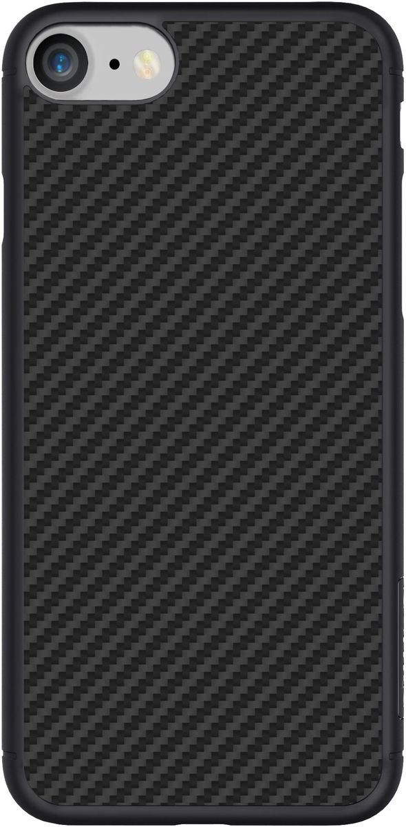 Nillkin Synthetic Fiber чехол для Apple iPhone 8/7, Black2000000157092Накладка Nillkin Synthetic fiber для Apple iPhone 8