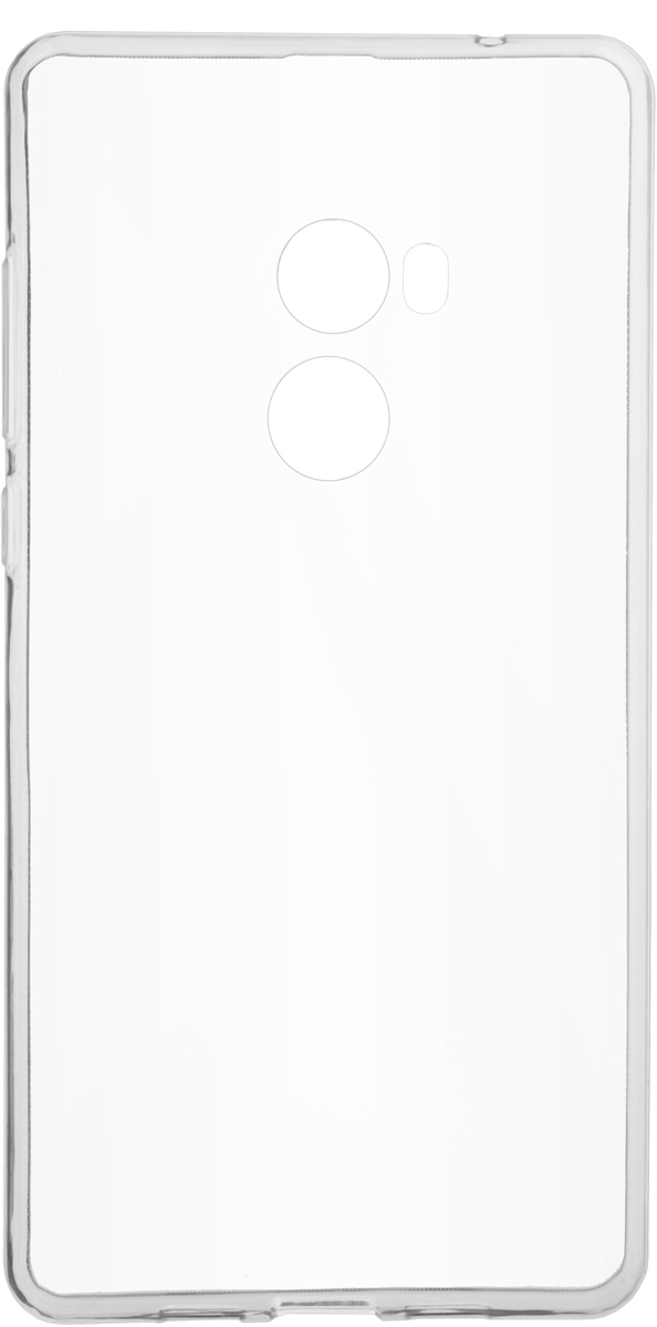 Skinbox Slim Silicone Case 4People чехол для Xiaomi Mi Mix 2, Transparent аксессуар чехол xiaomi silicone case for power bank 16000 white