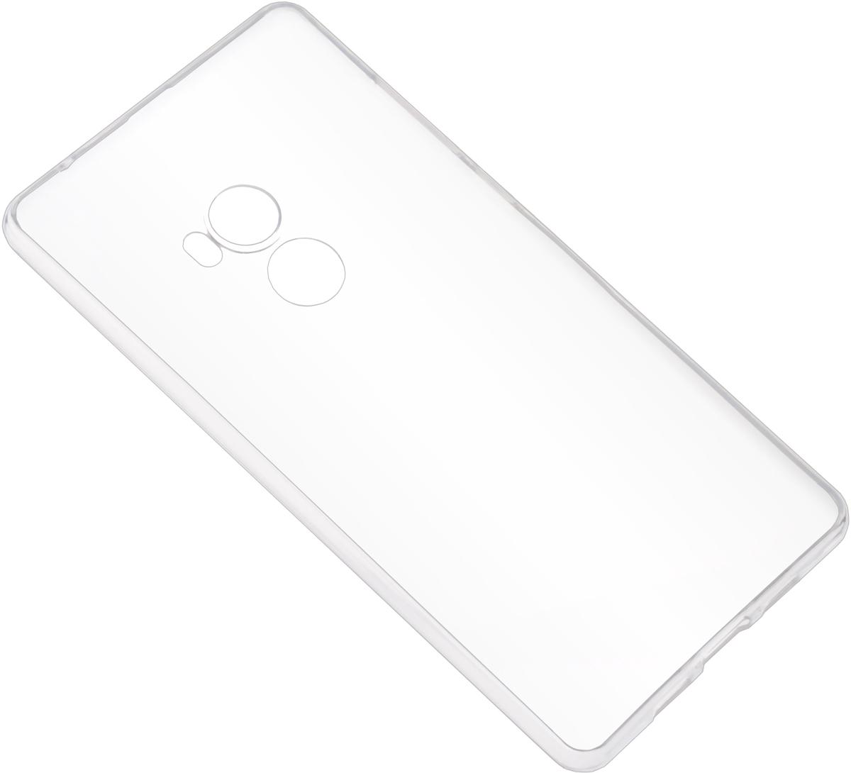 Skinbox Slim Silicone Case 4Peopleчехол для Xiaomi Mi Mix 2, Transparent Skinbox