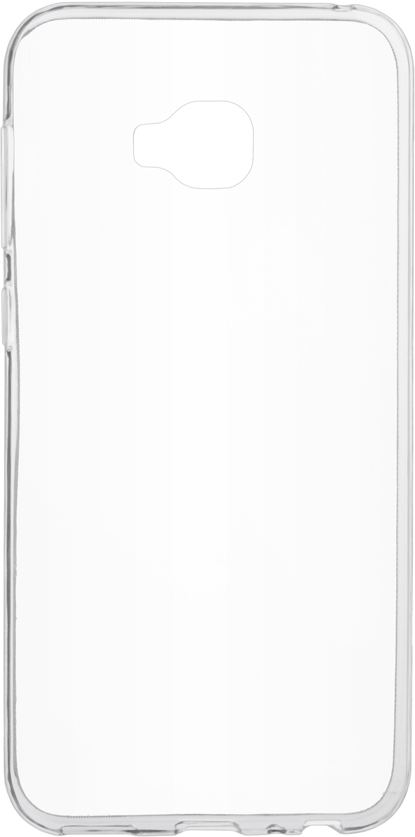 Skinbox Slim Silicone Case 4People чехол для Asus Zenfone 4 Selfie Pro (ZD552KL), Transparent смартфон asus zenfone 4 selfie pro zd552kl 64gb