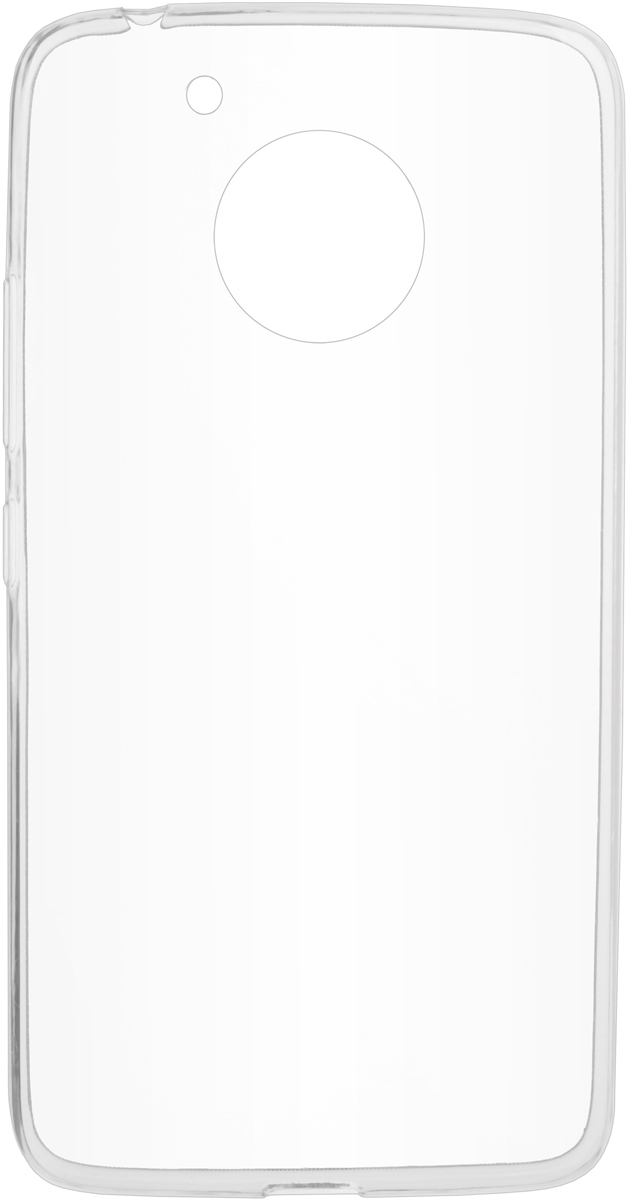Skinbox Slim Silicone Case 4People чехол для Moto G5, Transparent