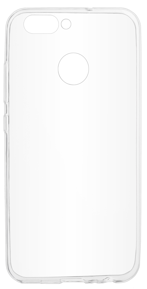 Skinbox Slim Silicone Case 4People чехол для Huawei Nova 2, Transparent2000000155555Накладка skinBOX slim silicone case 4People для Huawei Nova 2