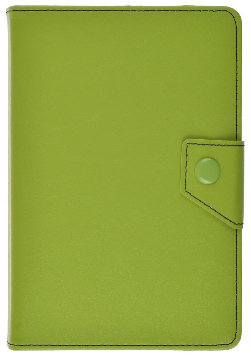 ProShield Universal Slim универсальный чехол для планшетов 7, Green2000000157535Универсальный чехол-книжка с клипсой для планшетов 7