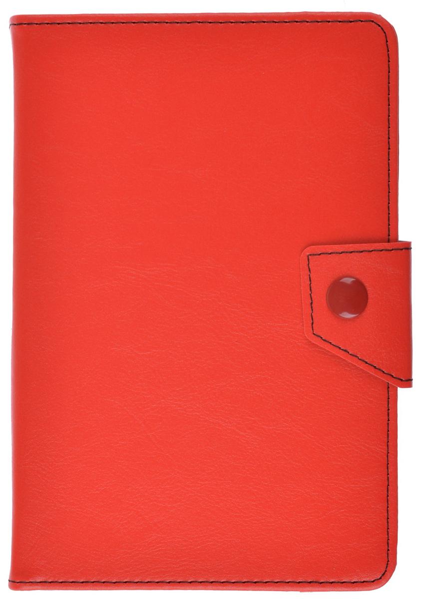 ProShield Universal Slim универсальный чехол для планшетов 8, Red2000000157597Универсальный чехол-книжка с клипсой для планшетов 8