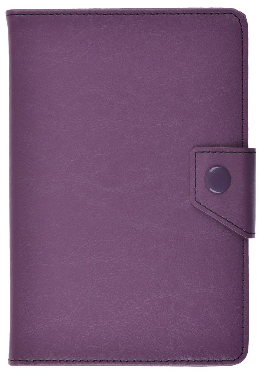 ProShield Universal Slim универсальный чехол для планшетов 8, Purple2000000157603Универсальный чехол-книжка с клипсой для планшетов 8