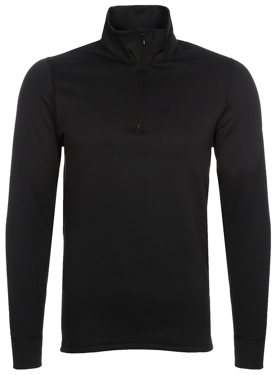 Термобелье кофта Montero, цвет: черный. MPFZ02. Размер 50/52MPFZ02Джемпер из флиса серии PrimaLoft Fleece Lite с воротником стойкой и длинными рукавами. Лицевая сторона - велюровая, внутренняя сторона - ворсованная. Можно носить самостоятельно или в качестве первого слоя.