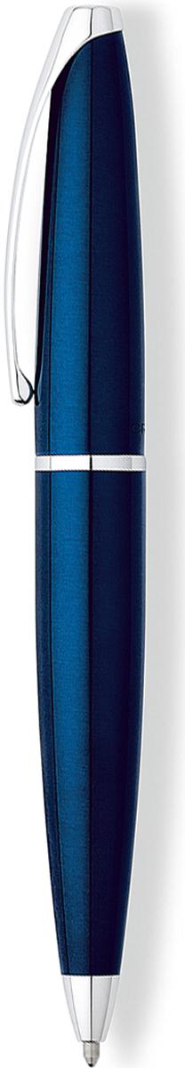 Cross Ручка шариковая ATX цвет корпуса синий882-37Американская компания CROSS – один из старейших брендов среди производителей пишущих инструментов и деловых аксессуаров. Компания была основана в 1846 году ювелиром Ричардом Кроссом и изначально специализировалась на производстве роскошных ротом и серебром. На протяжении долгих лет пишущие инструек из драгоценных металлов и ювелирных корпусов для карандашей, тисненных золотом и серебром. На протяжении долгих лет пишущие инструменты CROSS остаются классическим выбором для подарка.Ручка CROSS — это оригинальный персонгальный подарок и неотъемлемый элемент вашего стиля.Это голос доверия,который создает долгосрочные отношения между людьми и обогащет смыслом драгоценные моменты.Каждая ручка CROSS имеет пожизненную механическую гарантию.Шариковая ручка Cross ATX очарует плавными линиями латунного корпуса и станет лучшим презентом для состоятельного человека. На поверхность в несколько слоев нанесен высококачественный лак глубокого синего цвета и отполирован до глянца. Хромированные детали декора подчеркивают все изящество дизайна. Ручка украшена длинным клипом с гравированным логотипом Кросс. Наконечник имеет конусообразную форму, поэтому комфортен при объемном письме. Чтобы выдвинуть стержень, нужно плавно повернуть верхнюю часть. Дополнительно в комплект включена стильная подарочная коробка с фирменными знаками.Тип товара: Ручка шариковая Коллекция Cross: ATX Толщина линии, мм: 0.7 Цвет чернил: черный Материал: латуньхромЦвет: синий Упаковка: подарочная коробка Гарантия производителя: пожизненная