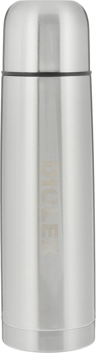Термос Diolex, с узким горлом, 750 млDX-750-1Термос Diolex ( из нержавеющей стали с узким горлом 0,75л)